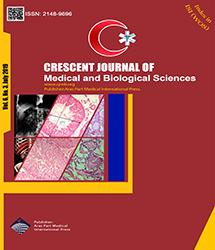 Crescent Journal of Medical and Biological Sciences